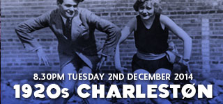 1920s Charleston Class | 2nd December 2014