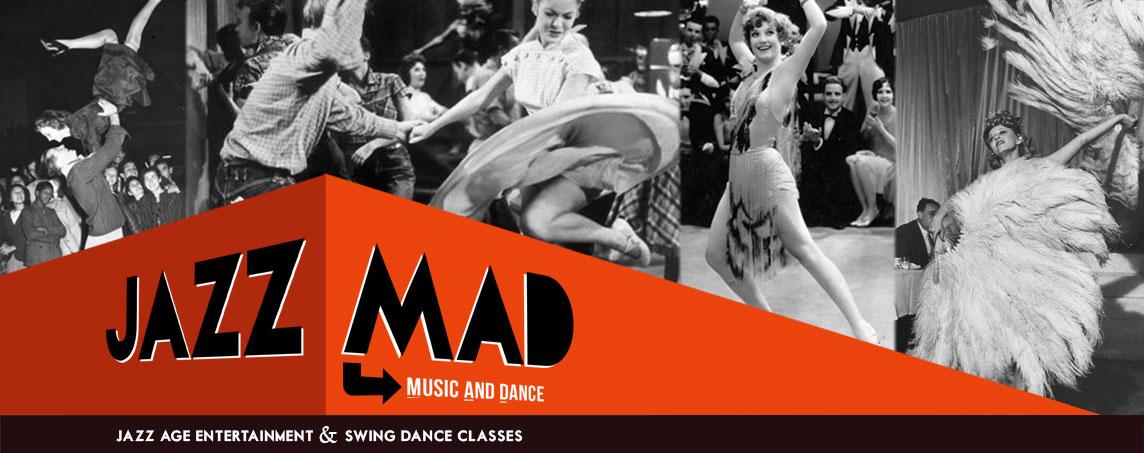 JazzMAD | Jazz Age Entertainment & Swing Dance Classes in London