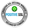 Positive SSL Secured Website by Comodo