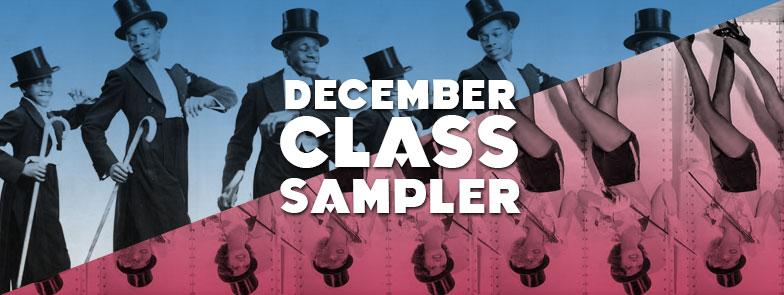 December Class Sampler