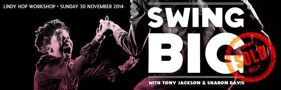 Swing Big Workshop | Sharon Davis & Tony Jackson