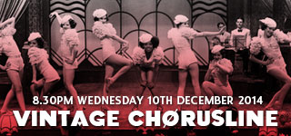 Vintage Chorusline Class | Wed 10th December 2014