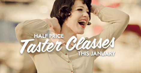 Half price January taster classes