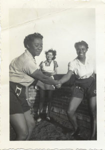 Two women dancing together in the 1940s | Lindy Hop | Jitterbug | Swing Dance