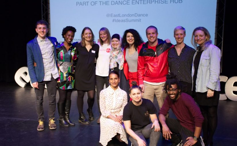 Dance Enterprise Ideas Fund 2017 Winners