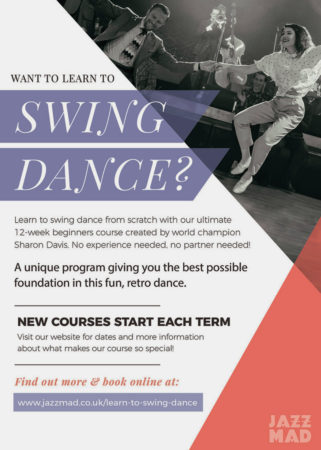 Swing Dance Beginners Course