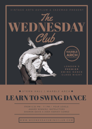 The Wednesday Club - Swing Dance Classes in Marble Arch
