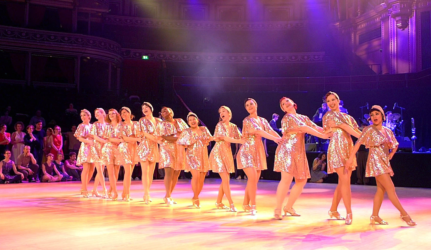 JazzMAD at Royal Albert Hall (photo by Dave Parsons)