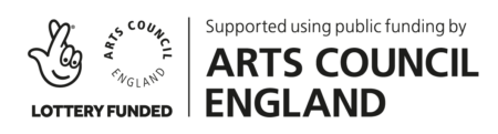 Lottery Funded | Supported by Arts Council England