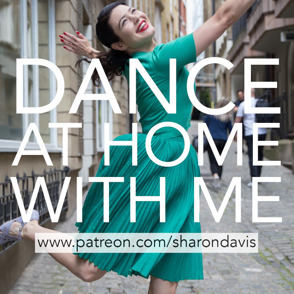 Dance at home with Sharon Davis